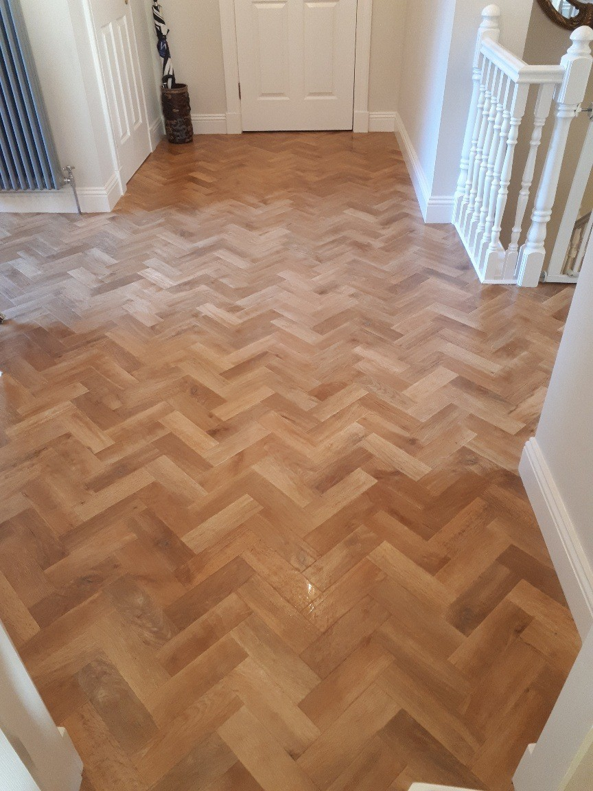 Solid Parquetry Spotted Gum