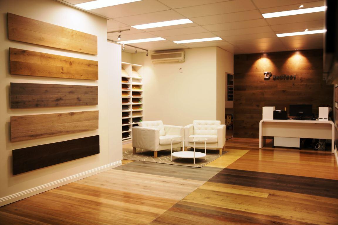 Barefoot Timber Flooring Lobby